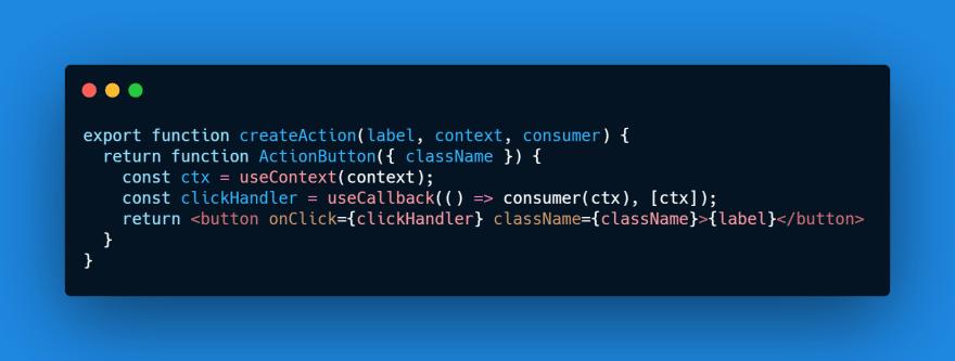 Create Context Action