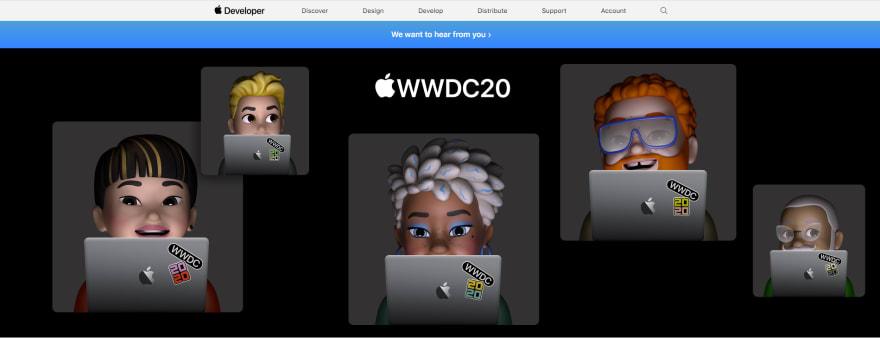 WWDC2020 banner
