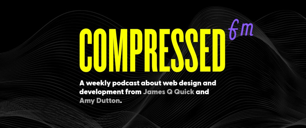 Cover image for weekly podcast about web design and development