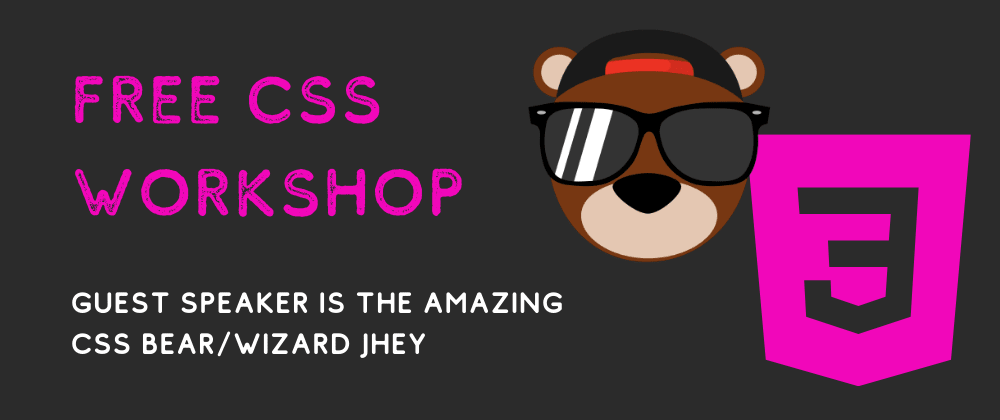 Cover image for Free CSS Pug Workshop 💻