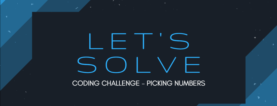 Let's Solve: Code Challenge - Picking Numbers