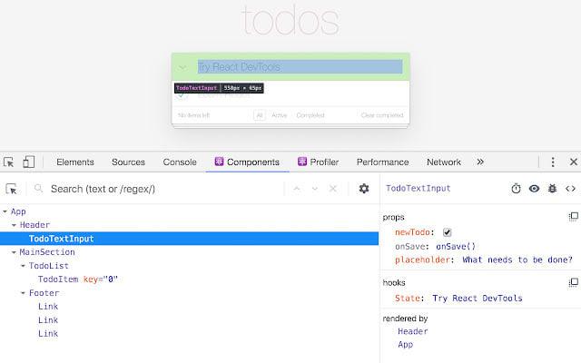 React Dev Tools