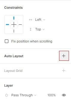 figma auto layout