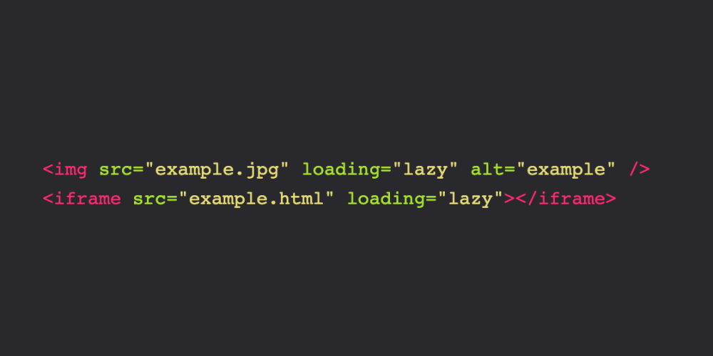 Native Lazy Loading for <img> and <iframe> is Coming to the
