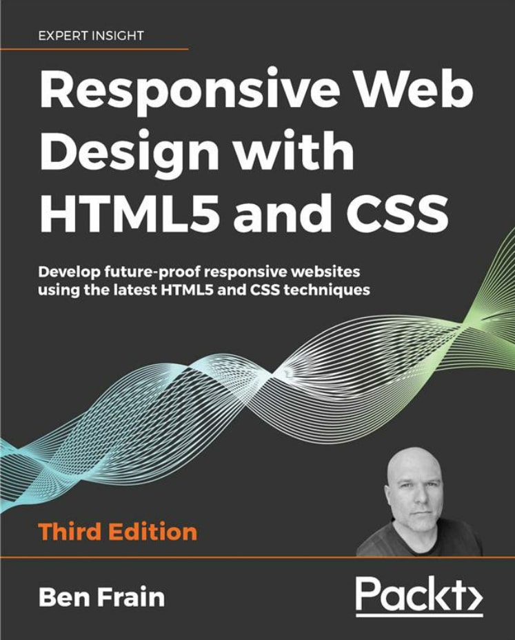 Responsive Web Design with HTML5 and CSS book cover
