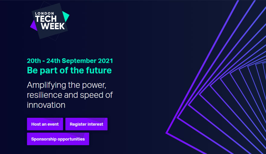 London Tech Week Developer Conference