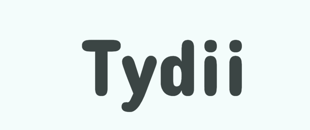 Cover image for Tydii - Decluttering App