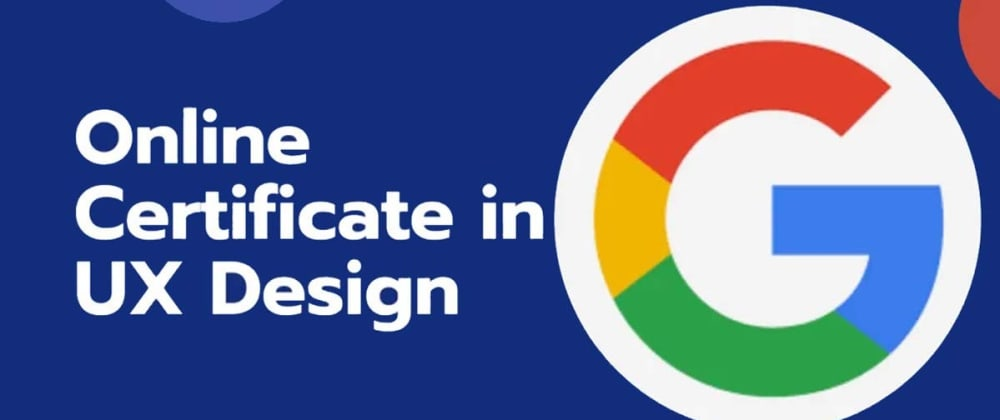 Cover image for I started learning UX design from Google, and here are my impressions of DAY1!