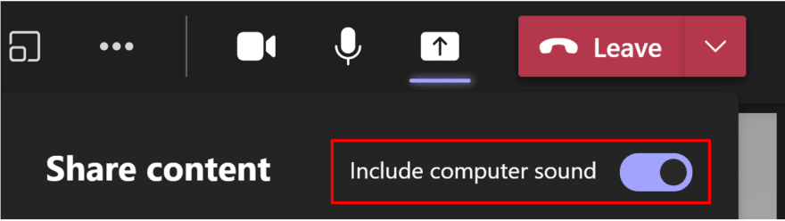Include computer sound