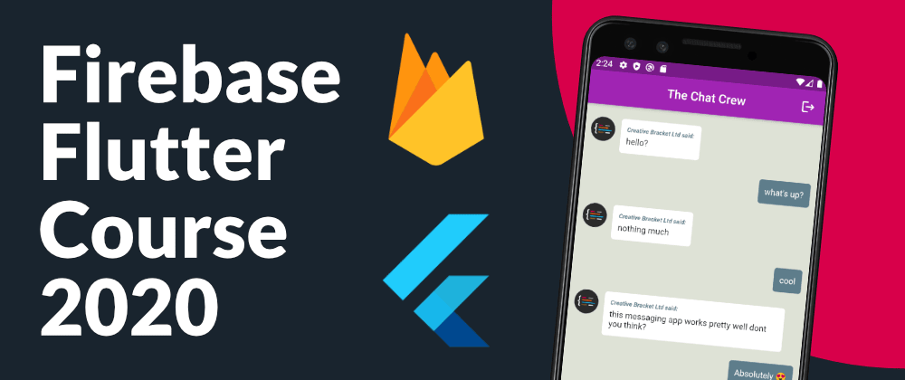 Cover image for Firebase Authentication and Flutter Full Course 2020   Watch on YouTube
