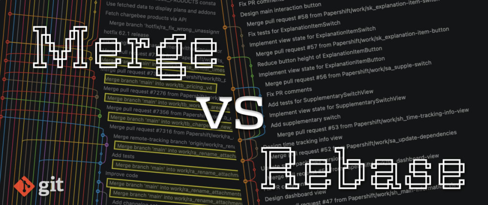 Cover image for Git Merge vs Rebase