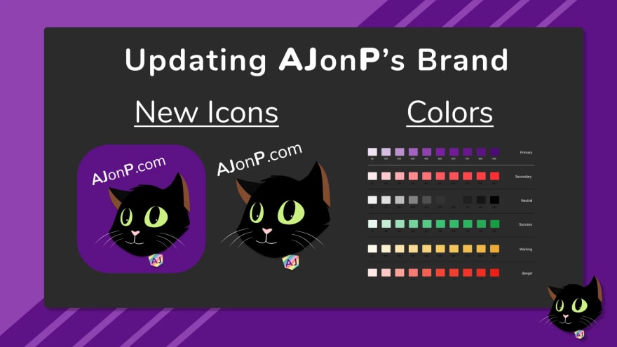 AJonP's New Colors and Logos