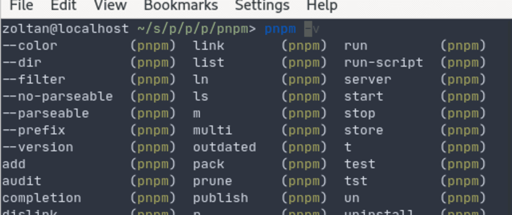 Cover image for pnpm v4.9 comes with command completion!