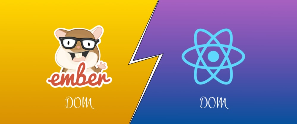 Cover image for Reusable DOM behavior in React vs Ember