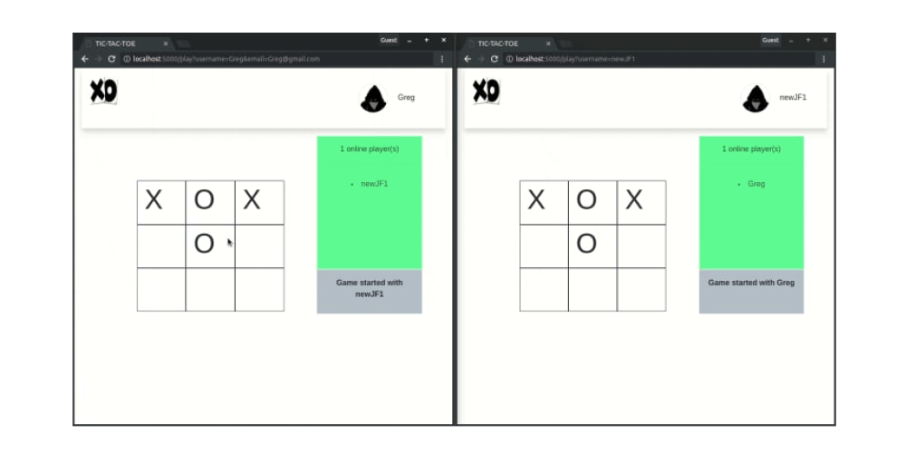 Create a two-player game with Python and Vue - DEV Community