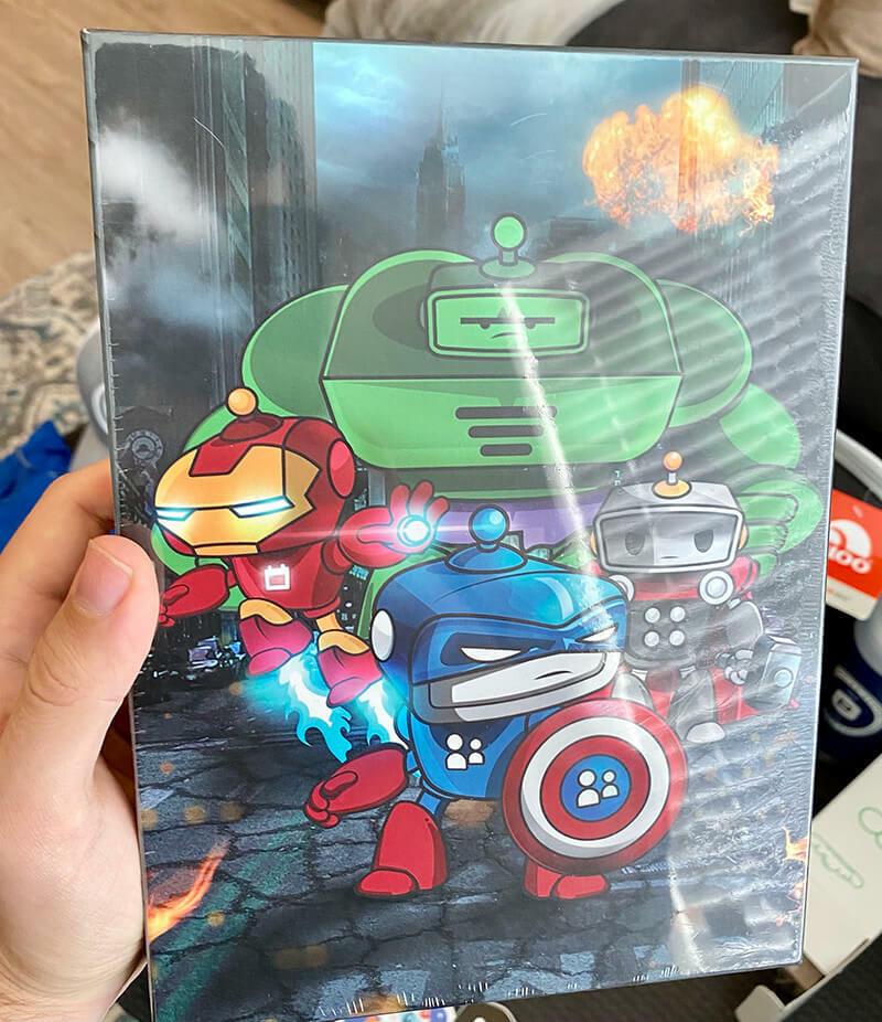 PCO Avenger Puzzle