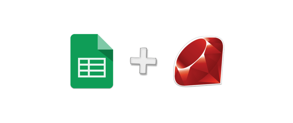 Cover image for Google Spreadsheets and Ruby