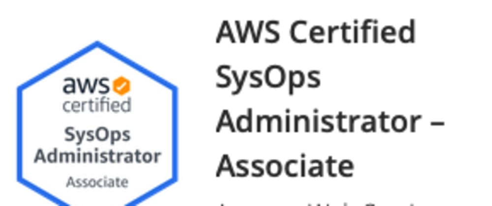 Cover image for What is the brand new AWS SysOps Administrator Associate exam (SOA-C02) all about?