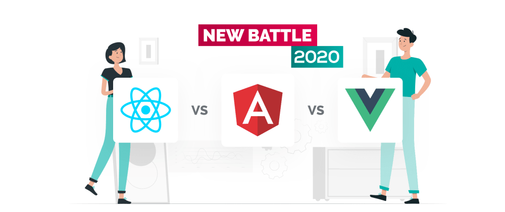 Cover image for React vs Angular vs Vue.js — What Is the Best Choice in 2021?