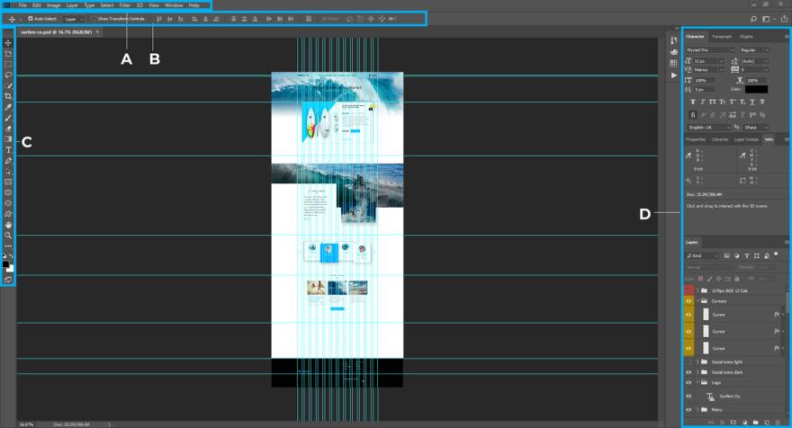 Layers box screenshot