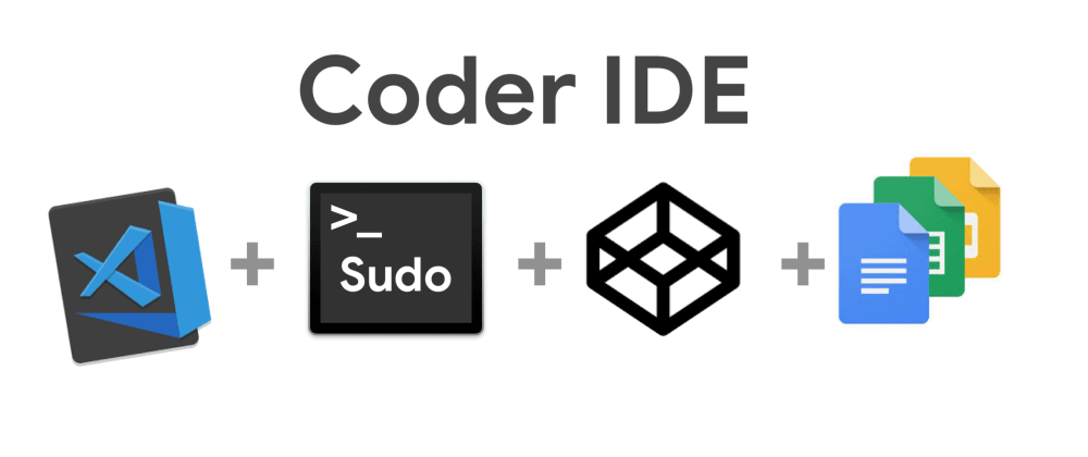 Cover image for Coder IDE - The Next-gen IDE on the ☁️