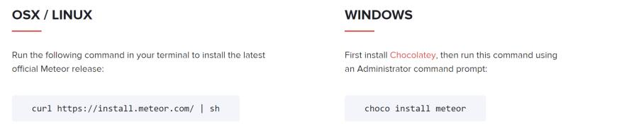The status of Meteor on Windows in 2017 - DEV Community