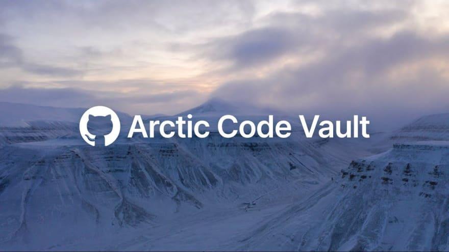 artic code vault image of the frozen mountains