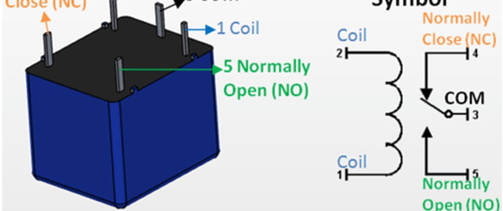 Cover image for Getting Started with a 5 pin relay by controlling 2 LEDs