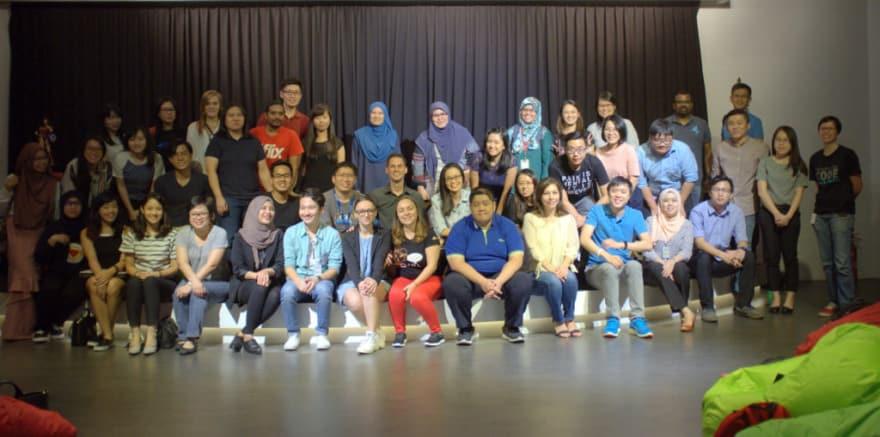 WWC-KL members and their always loyal audience