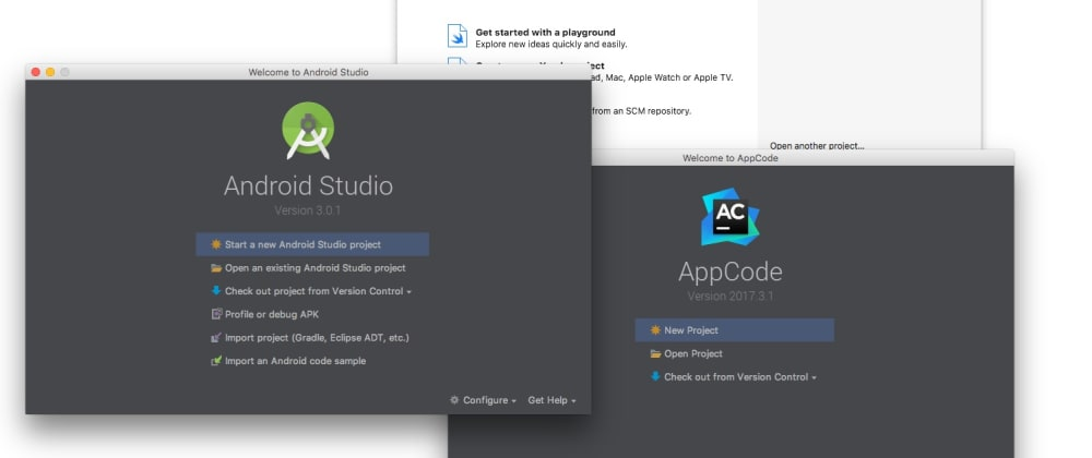 Cover image for Android Studio vs Xcode vs AppCode: a brief comparison about coding speed