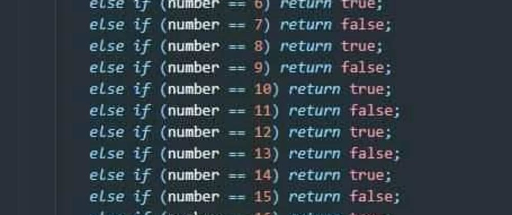 Cover image for Can you simplify this code for the guy?