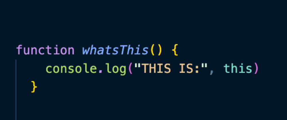 Cover image for Take 'this' Quiz, Understand How 'this' Works in JavaScript