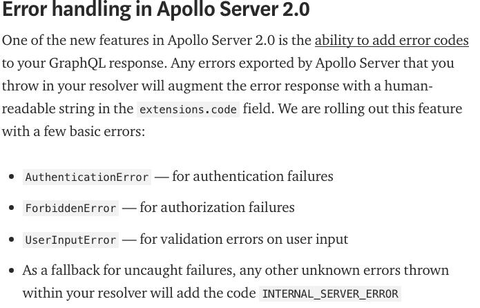 resolver errors