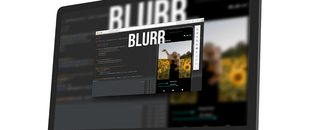Cover image for Blurr - Easy Blur and Tools Library
