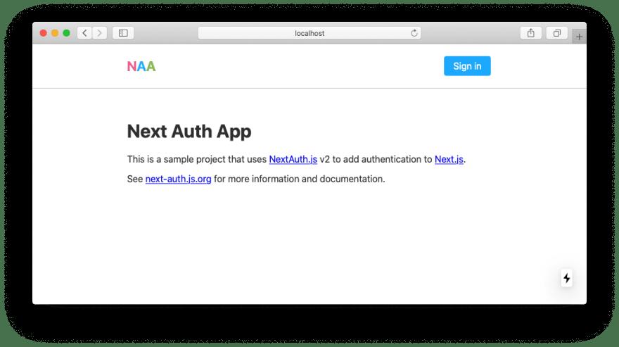 Next Auth App