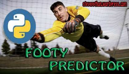 Python Football Results Predictor - DEV Community 👩 💻👨 💻
