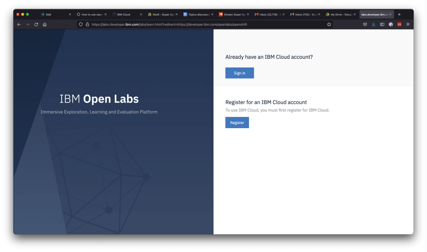 7 - lbm sign up open labs