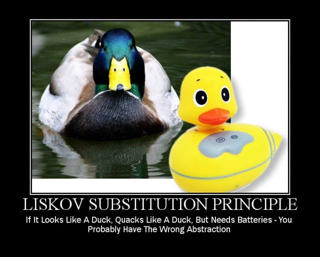 Ducks and the Liskov Substitution Principle