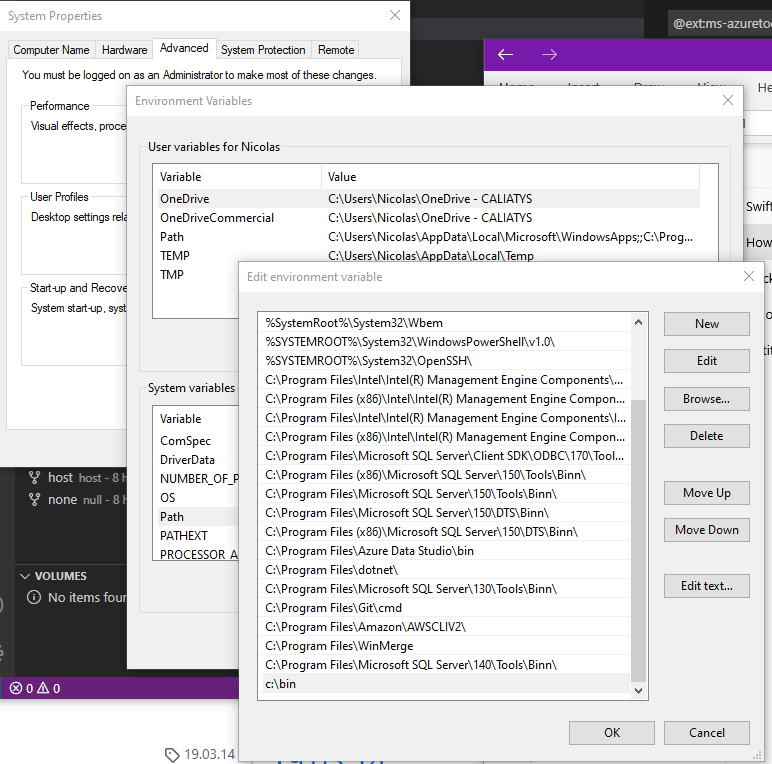 Add path to docker binary