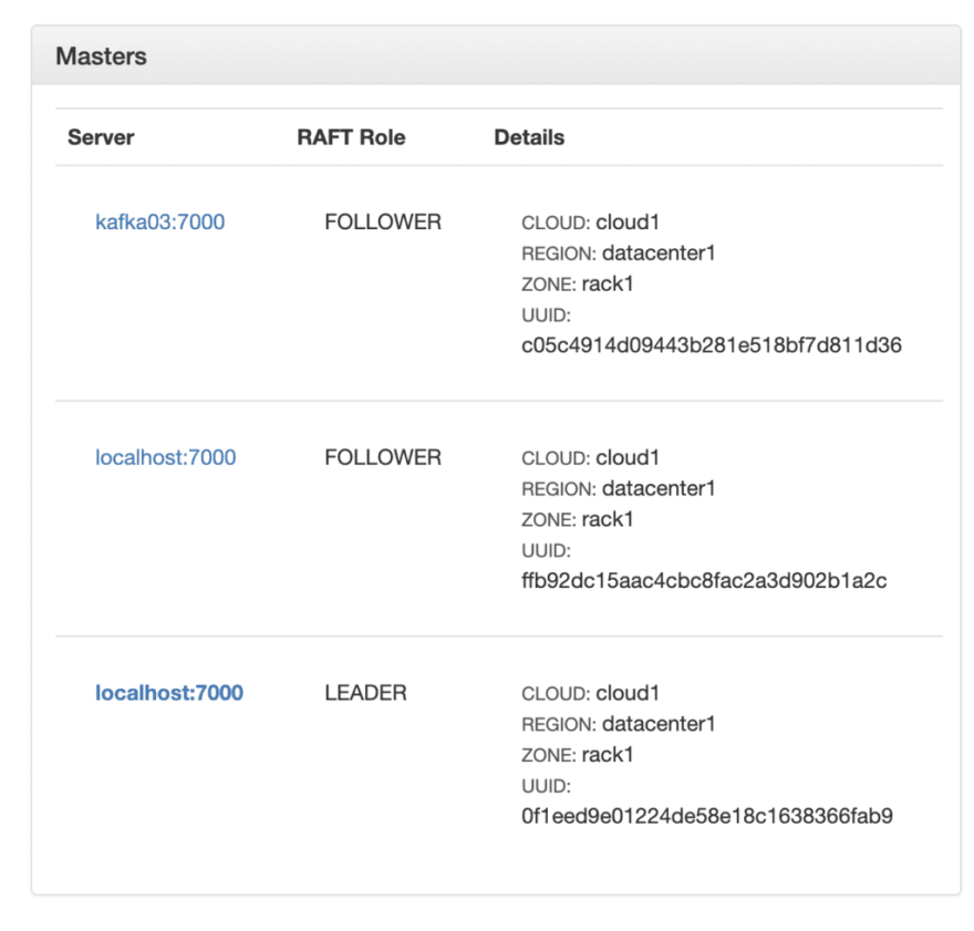 How to display server-ip in the UI, first without the IP as an example