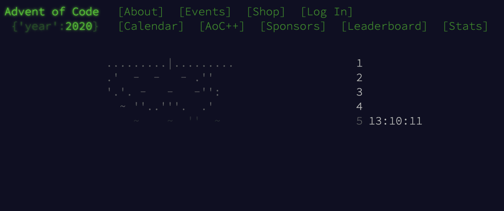 Cover image for Follow #adventofcode if you're into that kind of thing