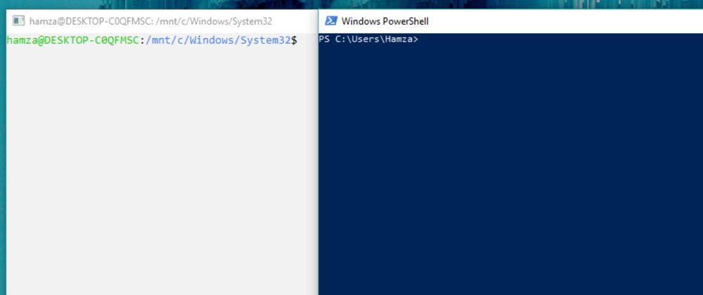 Cover image for *nix Bash shell vs Windows PowerShell: Two paradigms