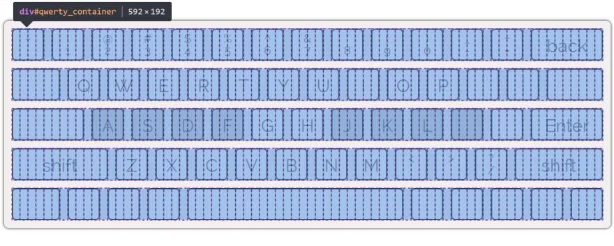 Keyboard grid