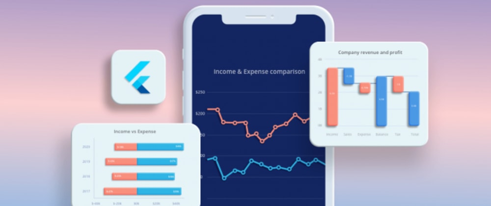 Cover image for 7 Best Flutter Charts for Visualizing Income and Expenditure