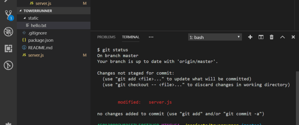 Cover image for How to integrate Git Bash with Visual Studio Code on Windows