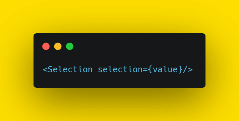 add value to selection