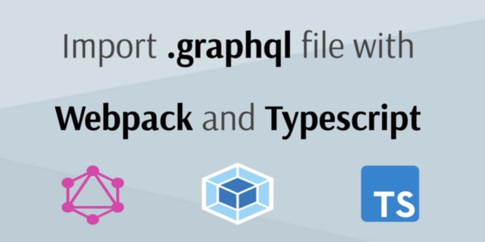 How to resolve import for the  graphql file with typescript
