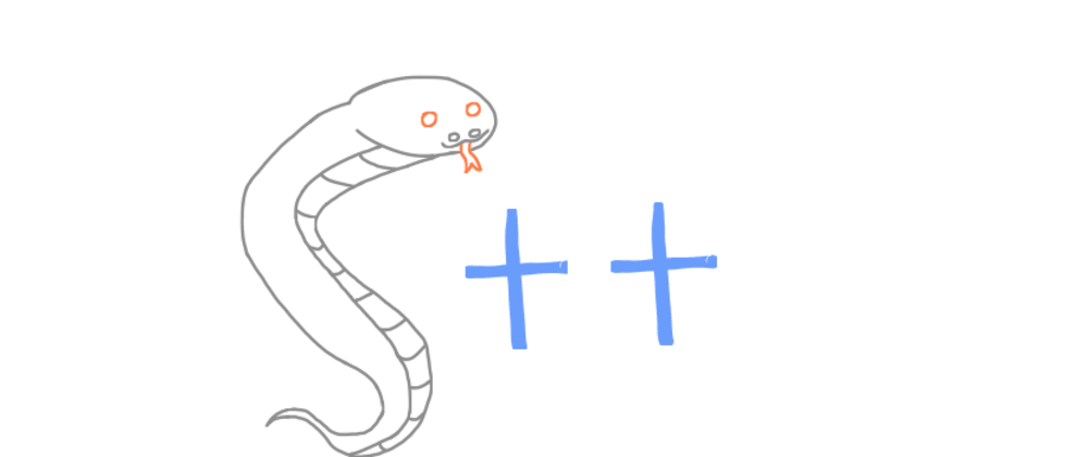 Cover image for C++ the python way