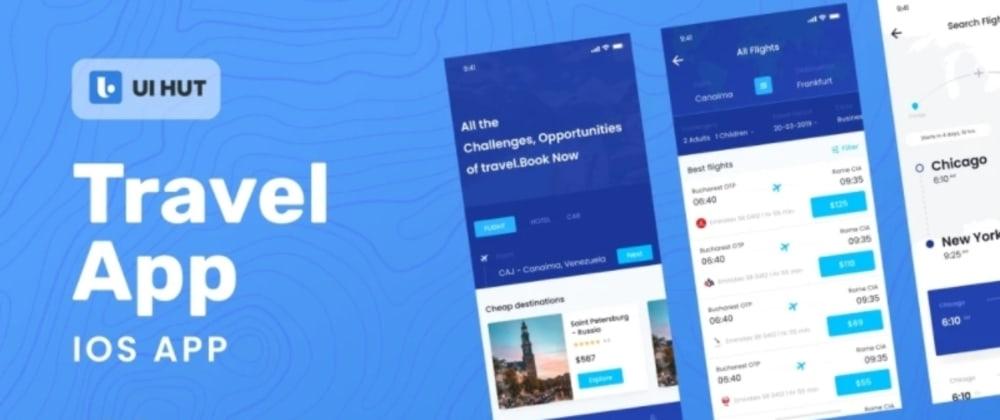 Cover image for Travel app UI kit - On UI HUT