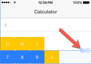 How to create a calculator application with Ionic framework